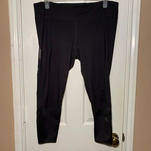 Adidas Energy Running Climacool 3/4 Sheer Leggings